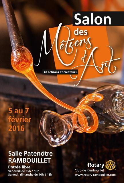 Salon des metiers d'art rambouillet 2016